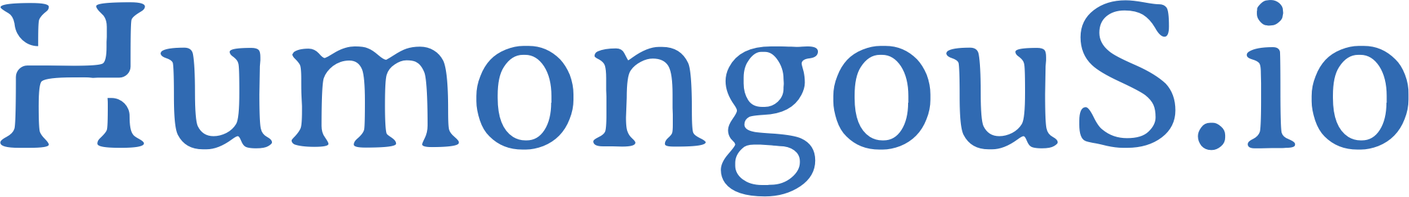 HumongouS.io Blog logo